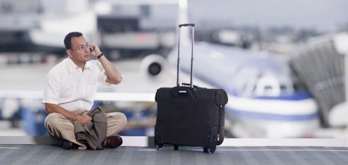 Connexions dans un aéroport