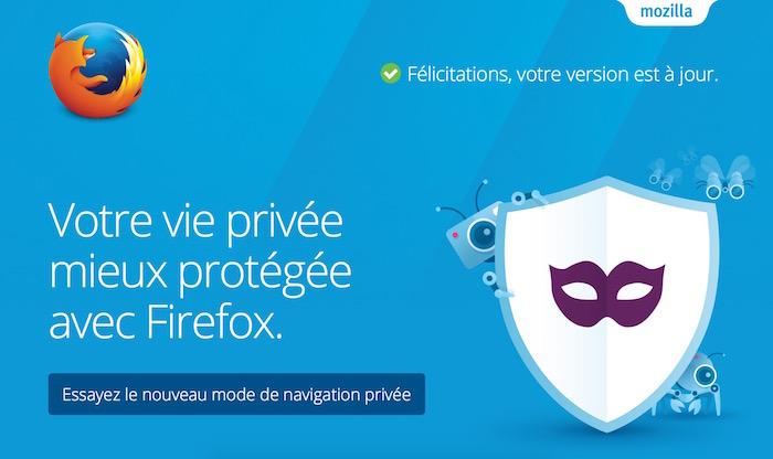 Firefox 42 améliore la protection contre le pistage