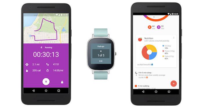 Google Fit va vous afficher des statistiques en temps réel