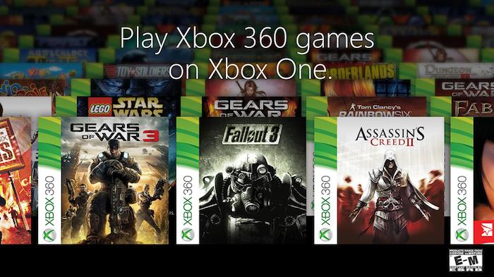 Microsoft dévoile premier lot de 104 jeux Xbox 360 compatibles Xbox One