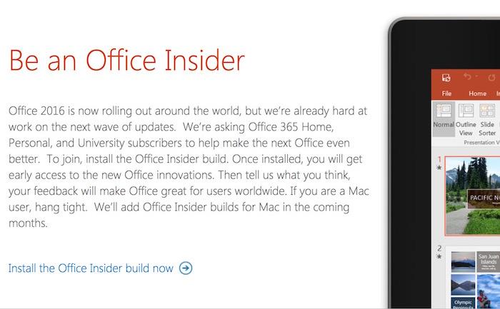Office 365 Insider