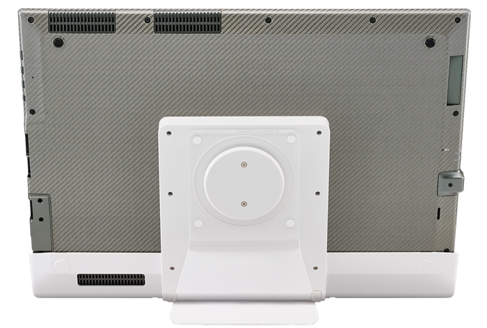 Panasonic Toughpad FZ-Y Performance : vue de dos