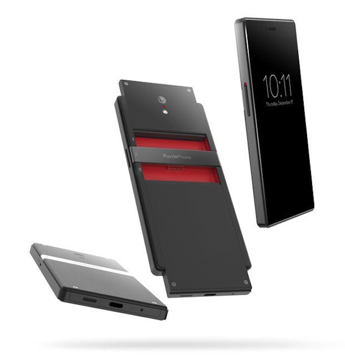 Le smartphone modulaire PuzzlePhone arrive sur Indiegogo