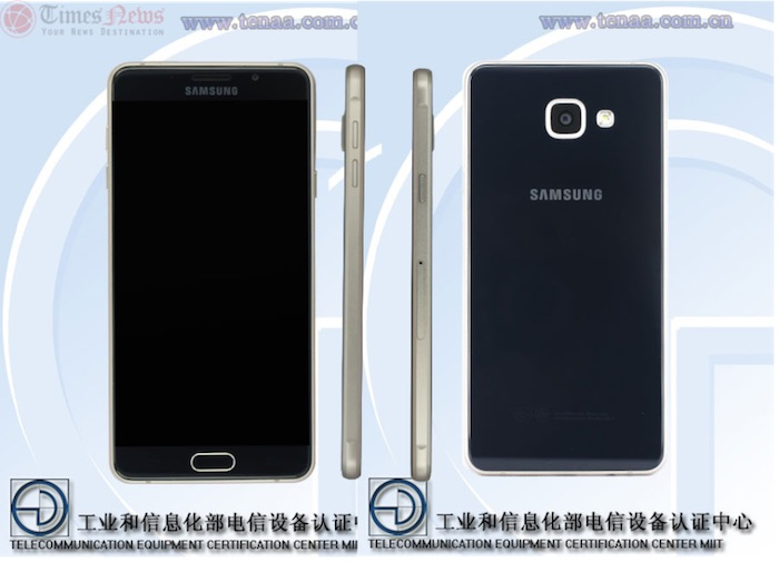Samsung Galaxy A7 : de nouvelles photos de la TENAA