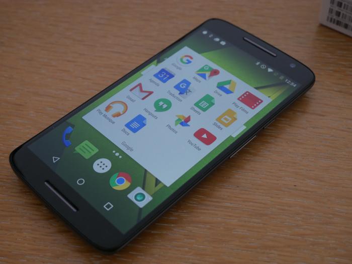 Test du Motorola Moto X Play