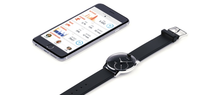 Withings Activité Steel et son application Health Mate