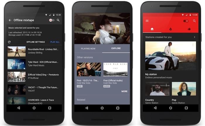 YouTube Music est maintenant disponible pour iOS et Android