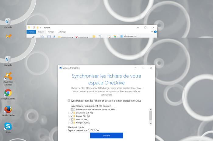 Synchroniser les fichiers dans OneDrive