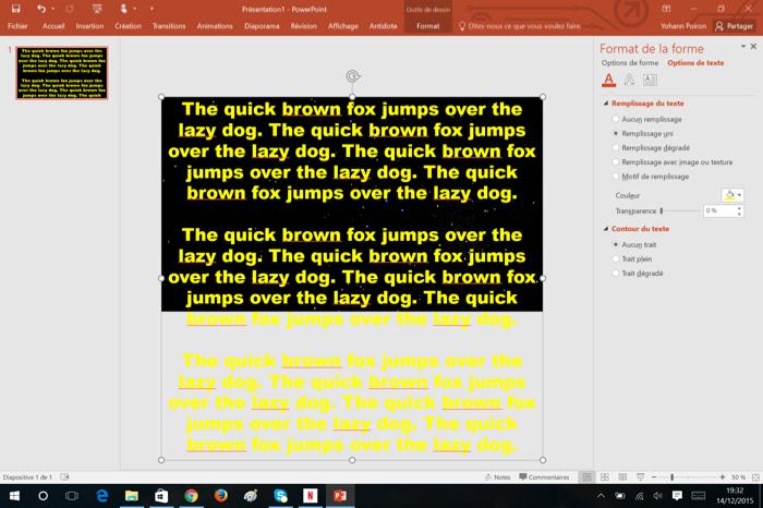 Comment faire d filer la star wars gr ce office 2016 - Comment faire un powerpoint open office ...