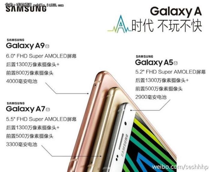 Galaxy A9 : les premiers détails révèlent un énorme écran et une batterie géante