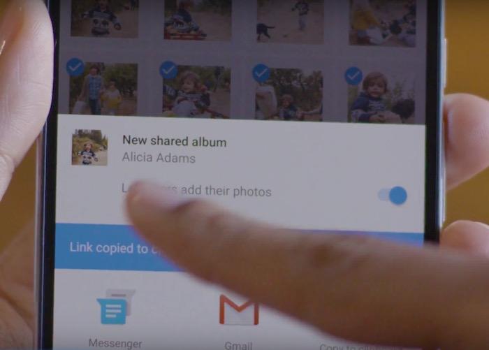 Google Photos lance ses albums partagés