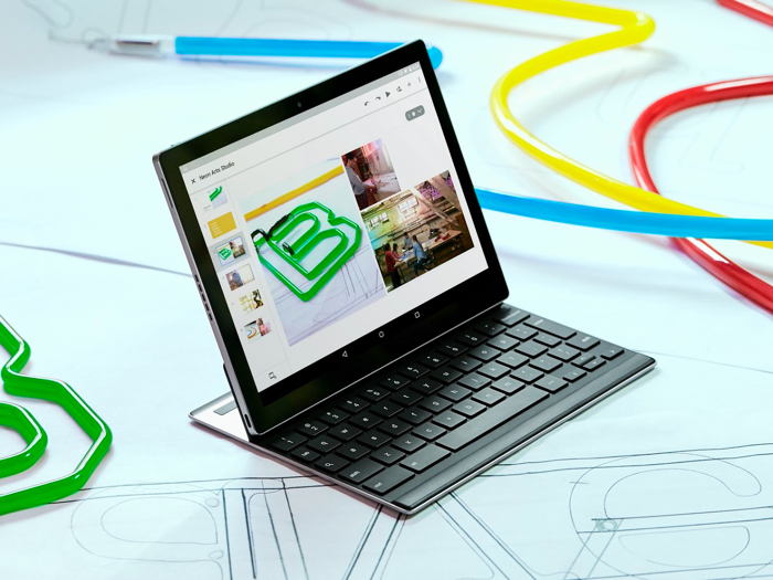 Google Pixel C : mode ordinateur