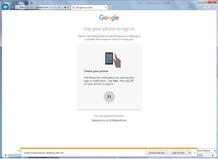 Google remplace les mots de passe en vous connectant avec votre smartphone