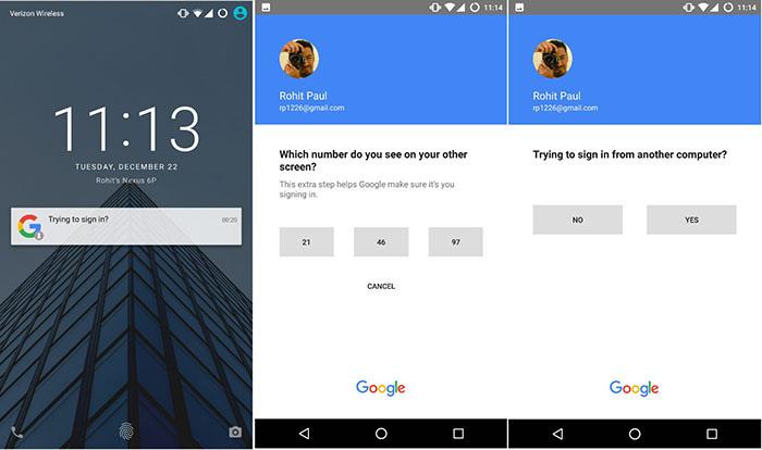 Authentification par un smartphone
