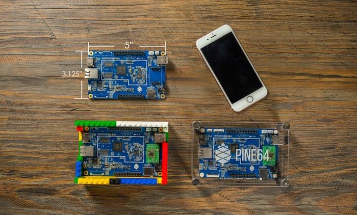 Le Pine A64 est un puissant concurrent au Raspberry Pi