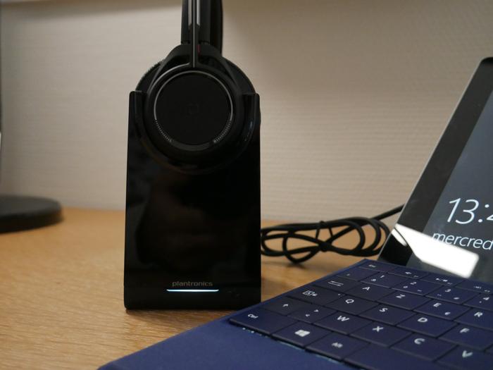 Plantronics Voyager Focus UC : connexion avec un PC