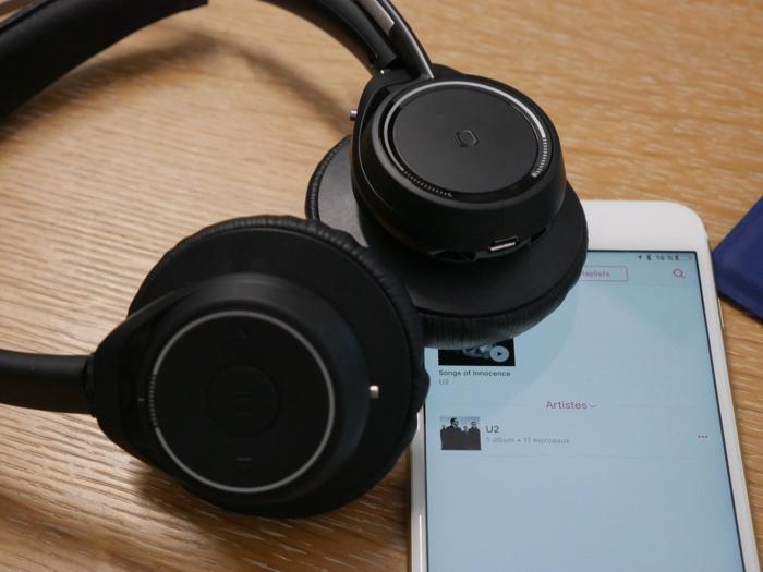 Plantronics Voyager Focus UC : connexion avec un smartphone