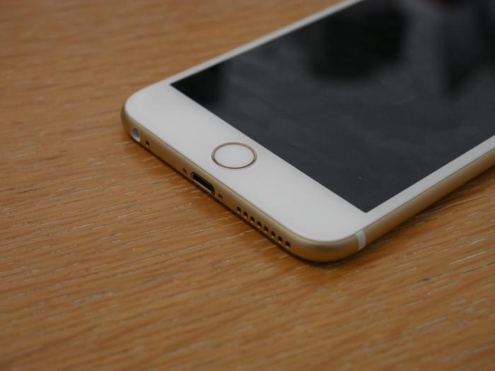 iPhone 6s Plus : capteur d'empreintes digitales Touch ID