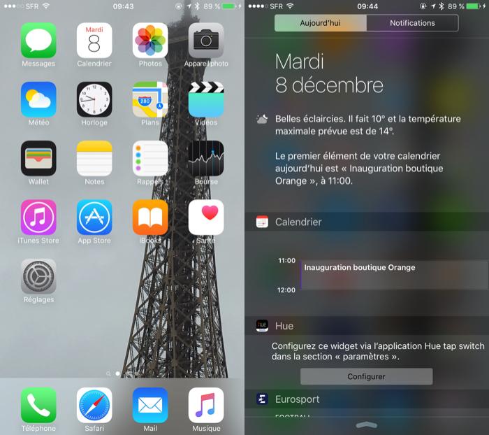 iPhone 6s Plus : iOS 9