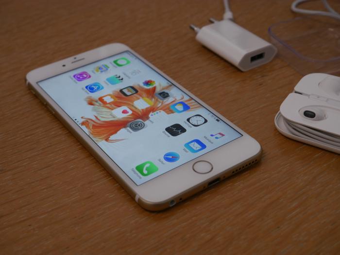 iPhone 6s Plus : puissance de calcul
