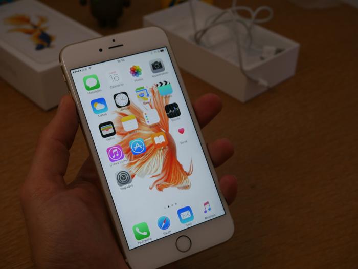 iPhone 6s Plus : en main
