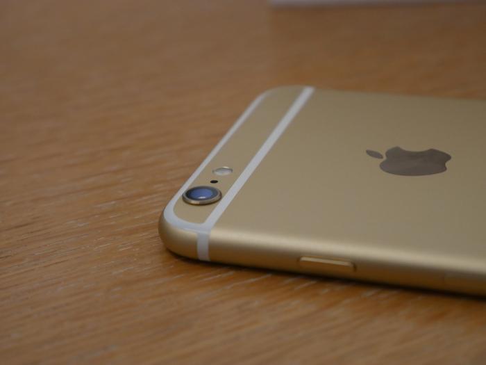 iPhone 6s Plus : caméra qui dépasse de la coque arrière