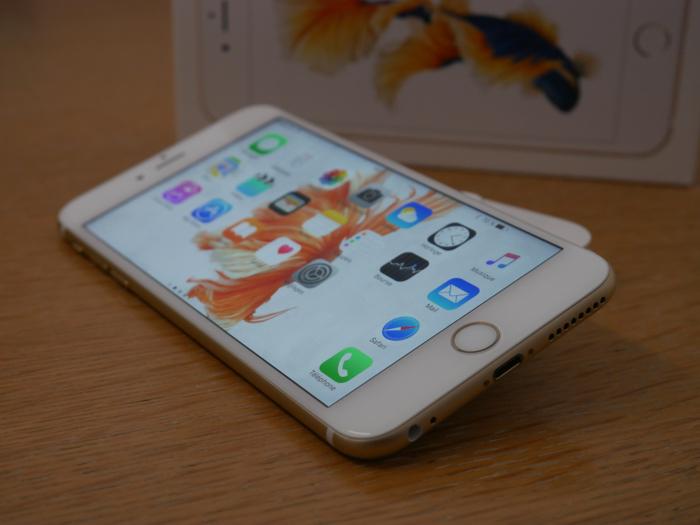 iPhone 6s Plus : épaisseur