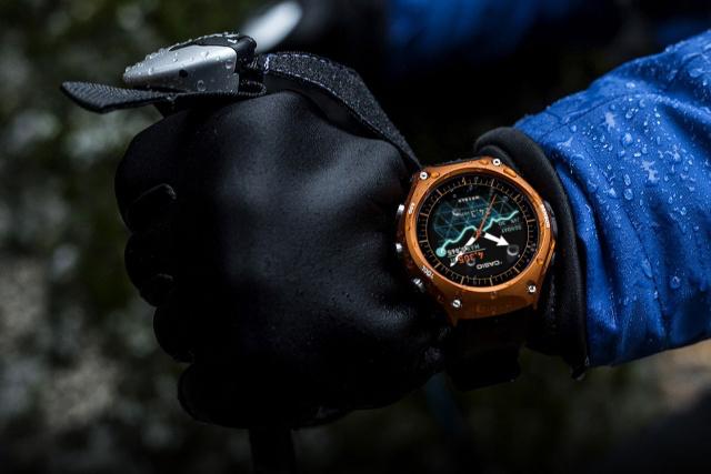 Casio Smart Outdoor Watch au poignet