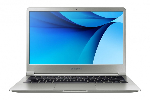 Samsung Notebook 9 : vue de face