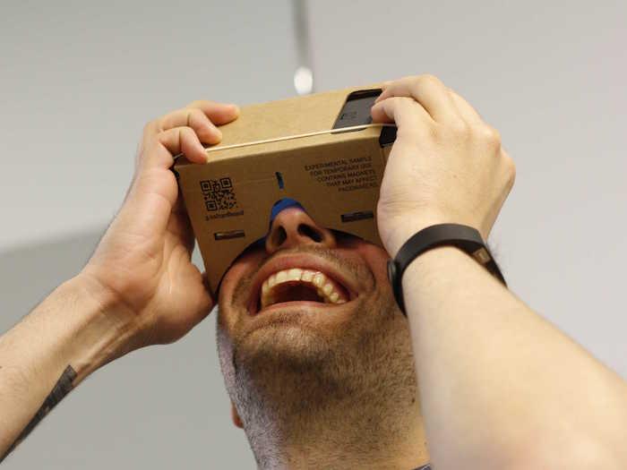Google semble vraiment s'intéresser à la réalité virtuelle