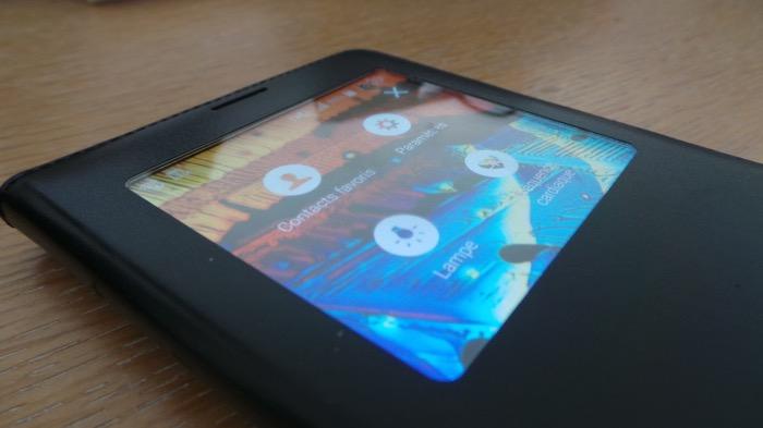 S-View pour le Galaxy Note 4