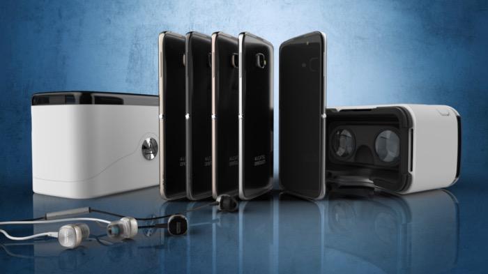 Le dernier smartphone d'Alcatel sera disponible dans un casque de réalité virtuelle
