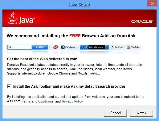 Exécutable Java