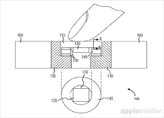 Le dernier brevet d'Apple prévoit de grands projets pour le bouton Home de l'iPhone