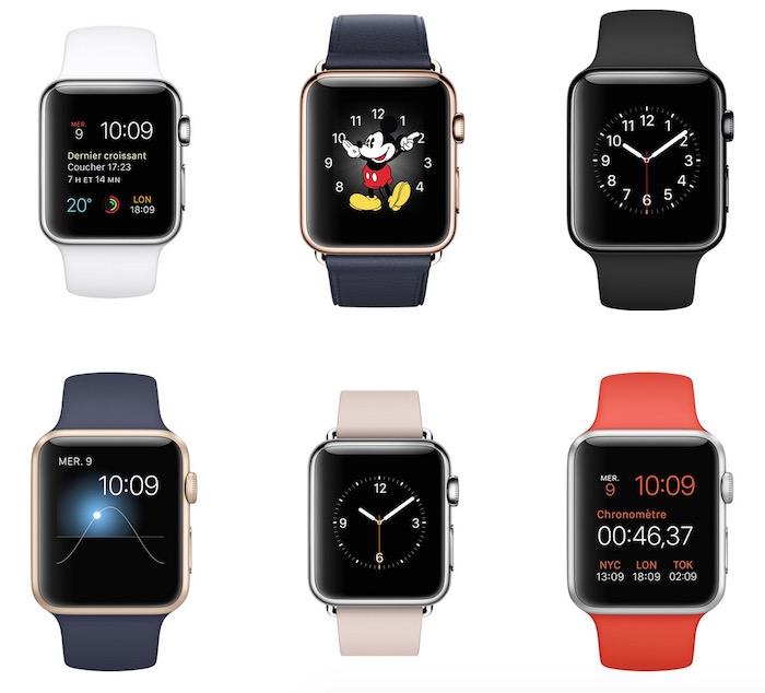Ne vous attendez pas à une Apple Watch 2 en mars, mais juste un modèle 'S'