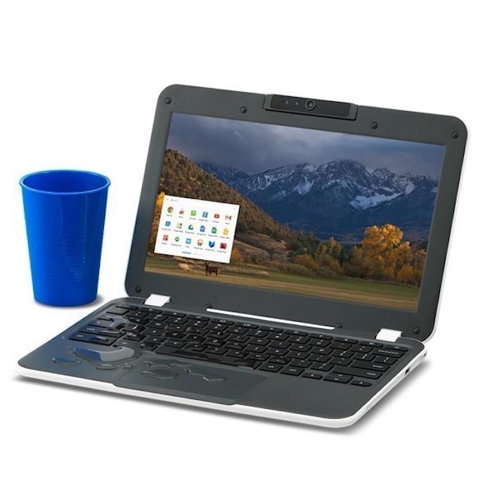 Chromebook CTL NL6X : résistant au liquide
