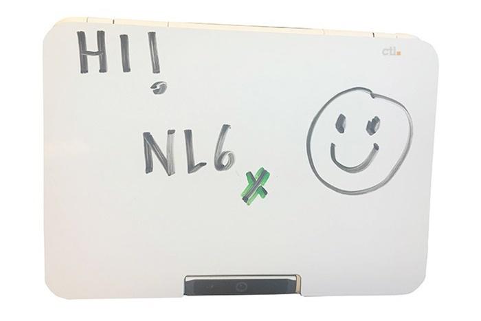 Chromebook CTL NL6X : mode tableau blanc