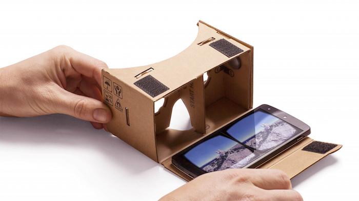 Google conçoit peut-être un casque de réalité virtuelle qui n'est pas en carton