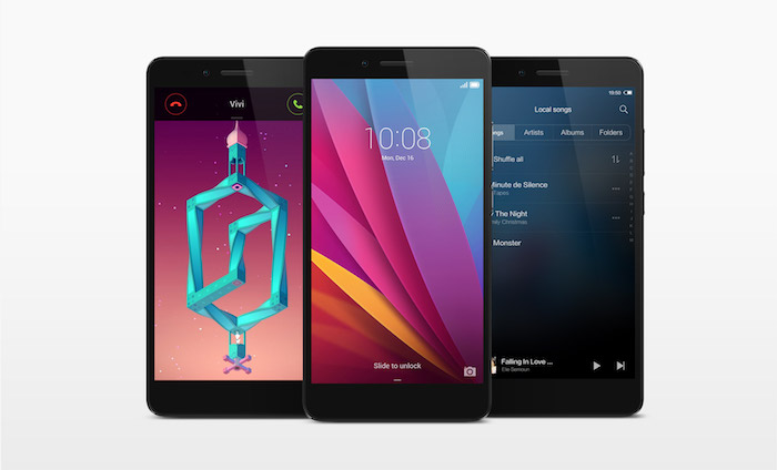 Honor 5X : Android 5.1 avec l'interface utilisateur Emotion UI