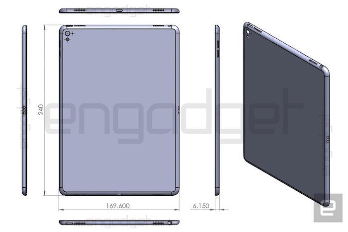 Voici plus de preuves que l'iPad Air 3 sera un petit iPad Pro