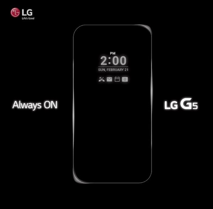 LG G5 : il aurait un écran toujours actif