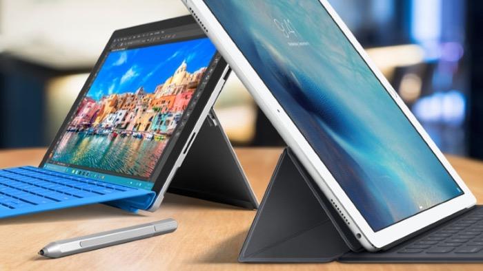 Microsoft Surface vs. Apple iPad Pro