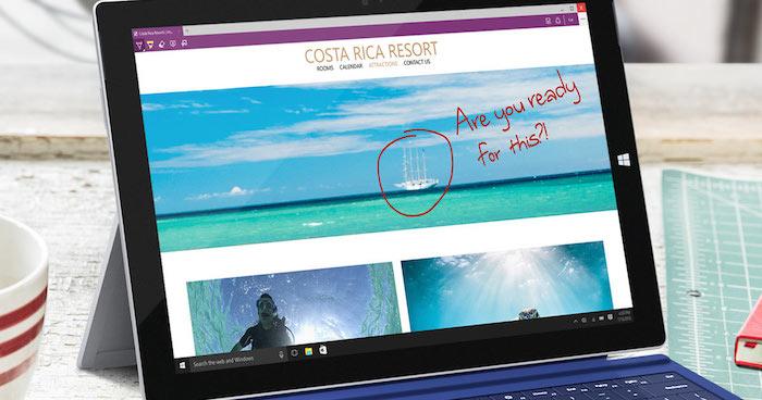 Microsoft Edge pourrait avoir un coup de pouce nécessaire avec Windows 10 Redstone