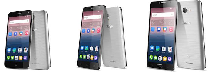 MWC 2016 : Alcatel lance sa gamme de smartphones Pop 4