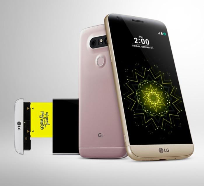 MWC 2016 : LG lance son smartphone G5