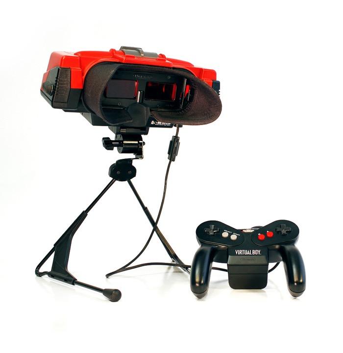 The Virtual Boy, l'un des premiers produits de réalité virtuelle libérée en 1995