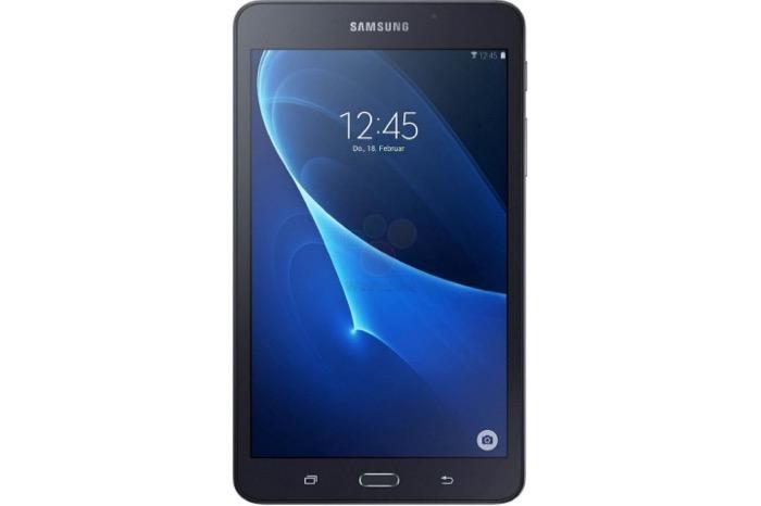 Samsung Galaxy Tab A 2016 : vue de face