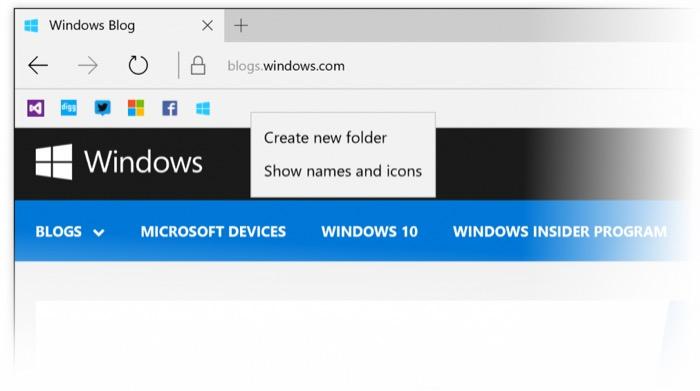 La build 14267 de Windows 10 apporte des améliorations et Edge