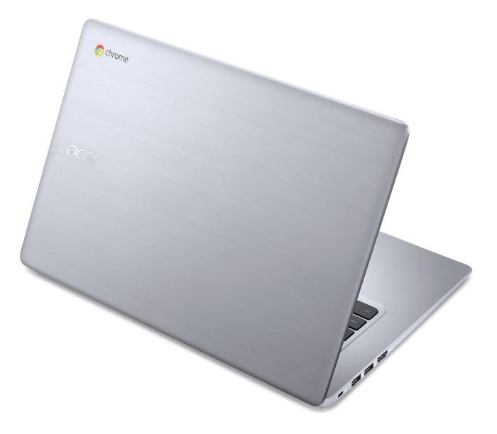 Acer Chromebook 14 : vue de dos