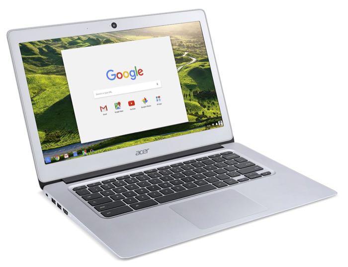 Acer Chromebook 14 : vue de 3/4
